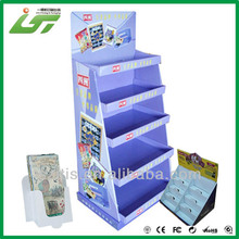 Shenzhen OEM printing cardboard display stand manufacturer