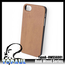 More cheaper natural bamboo wooden pc hard phone case for iphone 5 5s 4 4s