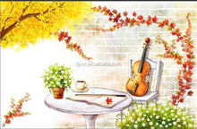 Wholesale canvas painting for home decor,DIY oil painting by numbers