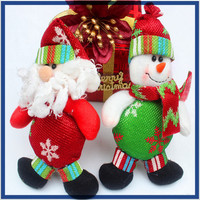 Factory directly wholesale american christmas decorations,Cheapest new toys cute christmas doll for christmas 2016