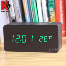 Innovative wooden digital cuboid unique new gift 2015 with high quality