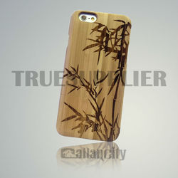 wooden cover for iphone 6 mobile phone case cover