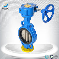 Dn150 Gear Operated Butterfly Valve Nbr Seat