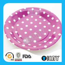 New Design Low Price Biodegradable Your Own Paper Plates For Holiday