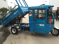 Cargo Tricycle 150cc with cabin and door and cabin without door