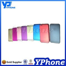 Newest For iphone 6 back cover housing replacement, for iphone 6 colorful back cover