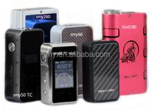 Factory directly selling!!! Newest SMY 60w VT box mod smy60 TC vs Subox Mini Kit/ subtank mini bell cap