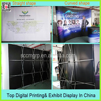 Magnetic Pop Up Display With Aluminum Frame and Pvc Picture