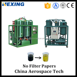 HGZL-S Series Vaccum Centrifugal Insulation Oil Purifier/Industrial Used Oil Cleaner/Machine Waste Oil Recycling System