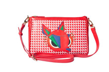 Deer shoulder ladies bag Cross body bag zip messenger bag AG1517944RED