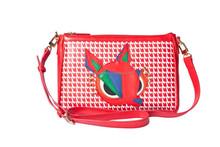 Deer shoulder ladies bag Cross body bag zip messenger bag AG1517944RED