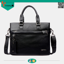 hot selling new style genuine leather business men bag feel comfortable