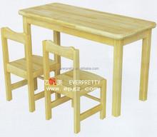 Nursery Wooden Chair Antique School Furniture,, Wood Children Study Desk and Chair Set