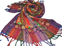 kashmiri embroidery ladies stoles and shawls