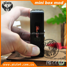 2015 best low resistance box mod pluto mini 35w box mod