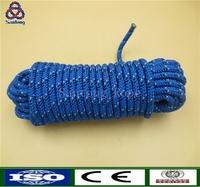 colored double braid nylon dock line