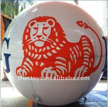 3Meters 2012 tiger helium balloon/advertising balloon/air balloon