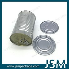 Metal empty Tin Can Packaging For canned mushroom