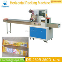 High speed ice cream bar packing machine