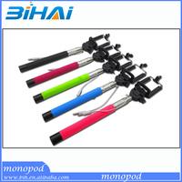 Hot! new wireless bluetooth selfie stick remote shutter mobile phone monopod QC09