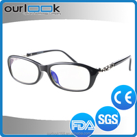 2014 Hot Selling Good Quality Anti Blue Ray Transparent Spectacle Frame