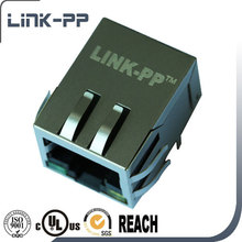 Single Port RJ45 Connector For RF / Wireless PCB Assembly RoHS Compliant