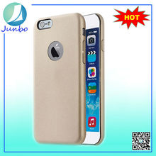 High quality pu leather plastic hard accessories case for iphone 6