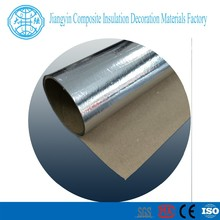 2015 Factory can be customized grass pulp and paper Reinforced aluminum foil