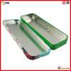 Rectangular pencil metal tin box