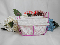 rectangle cheap wire basket metal basket