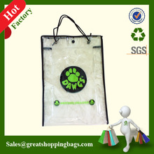 Durable plastic bags clear pvc bags wholesale for garment from Wenzhou manufacturer