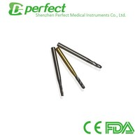 Dental Instrument Supply fissure Tungsten carbide burs with ISO CE FDA
