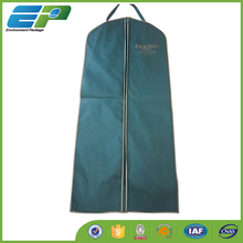 colorful polyester garment bag with handle