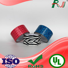 Alibaba decorative packing materialadhesive gummed professional grade PE duct tape manufacturer