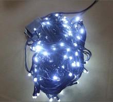 Black Copper Wires 10M 100 LED Christmas Decorative Lights String Lights for Holiday Festival Decoration