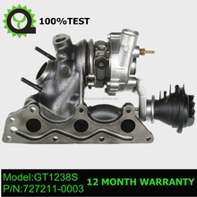 GT1238S Turbocharger turbo 727211-5001S , 727211-0001 , A1600960999 , A160096099980 , 1600960999 for Smart