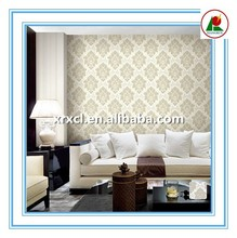 light color damask design classic korean size vinyl wallpaper