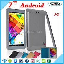 Cheapest Dual Core 7inch Capacitive Multi Touch Screen Android 3G Phone Call Function Tablet Pc With FM Bluetooth GPS