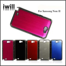 Cheap price Aluminum Waterproof mobile phone Case for Samsung Note 2