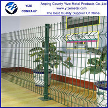 china manufacturer Anping YIZE high tensile steel high quality curvy welded mesh fence with low price