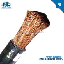 Welding Cable 35mm2 70mm2 95mm2 Flexible Copper/CCA Rubber Insulation Electric Welding Cable 1/0 AWG 50 mm2, 2/0 AWG 70 mm2 3/0