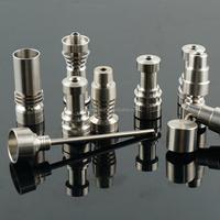 Gr2 Highly Educated Domeless smoking Titanium Nails and Dabbers Grade 2 titanium infiniti nail