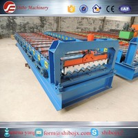 good price iron corrugating aluminum trapezoidal galvanized roofing panels rolls forming machine