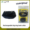 Big Dog Rechargeable and waterproof no bark anti bark collar