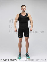 custom quick dry high quality youths sexy Men's outdoor sports cool Gym Compression wear