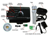 Dog Training Equipment Wholesale Electronic Outdoor Dog Fence with Two Rechargeable Collars Pet Product