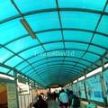 foshan tonon panel de policarbonato de plástico fabricante de material para techos hoja de arrojar hecho en china