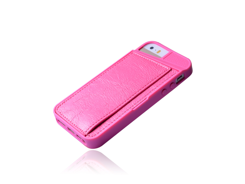 2014 Luxury Flip Leather Case Cover for iPhone 5s, Gel TPU Case Cover for iPhone 5s