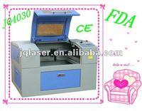 JQ4030 crystal craft laser engraving machine/jewelry tool/mini laser engraver CE&FDA