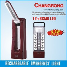 Rechargeable emergency camping & desk SMD LED lantern